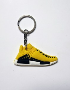 porte clé adidas human race pw pharrell yellow