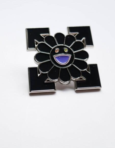 Pins Off white x Takashi murakami flower
