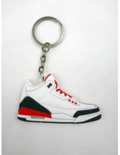 Jordan 3 white red
