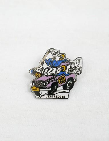 pins crazy car