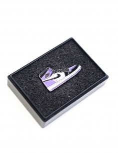 Pins air jordan 1 court purple toe