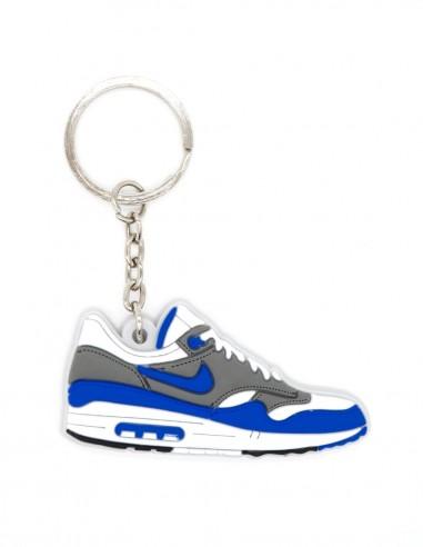 porte clé nike air max 1 og royal blue