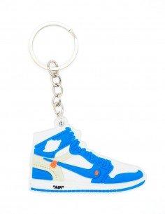 porte clé air jordan 1 off-white unc