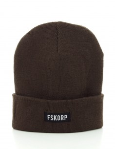 FSKORP BONNET BOX LOGO MARRON