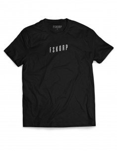 T-SHIRT FSKORP WAVE BLACK / WHITE
