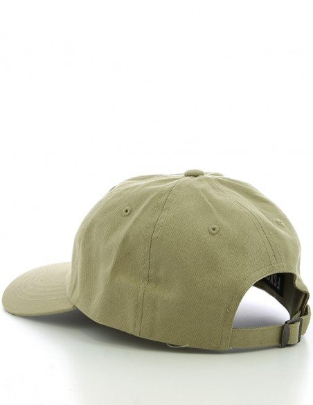 casquette beige six panel