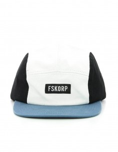 CASQUETTE 5 PANEL TRICOLORE