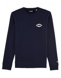 FSKORP LTD SWEAT NAVY EYE LOGO