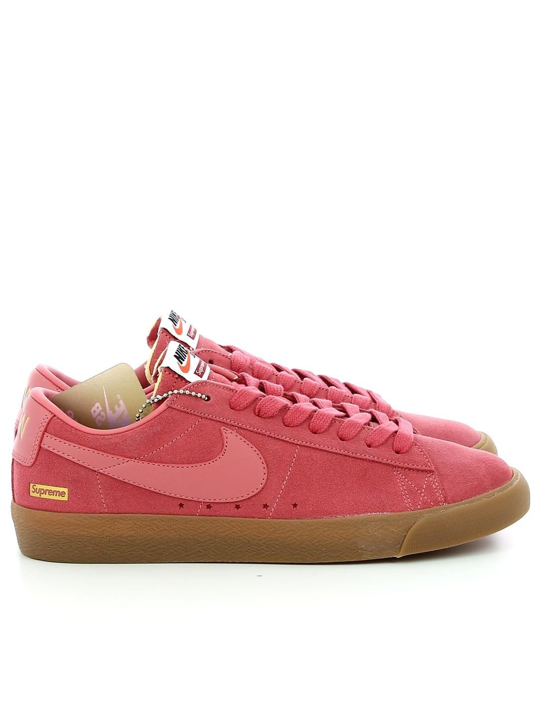 Nike Sb X Supreme Blazer Low Gt Qs The World
