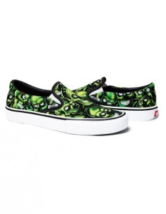"Supreme x Vans Slip on ""Skull pile"""