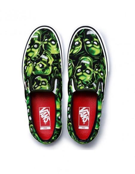 """Supreme x Vans Slip on """"Skull pile"""""""