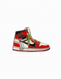 pins off white x Jordan 1 chicago the ten